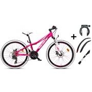 """Mountainbike 24"""" 24.21 PIGE PAKKETILBUD"""
