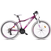 "Mountainbike 26"" 26.21 21-gear Rosa/lill"