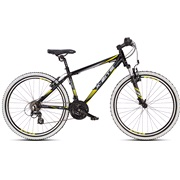 "Mountainbike 26"" 26.21 21-gear sort/gul"