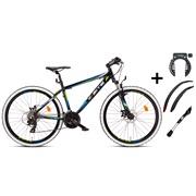 """Mountainbike 26"""" 26.21 hvid PAKKETILBUD"""