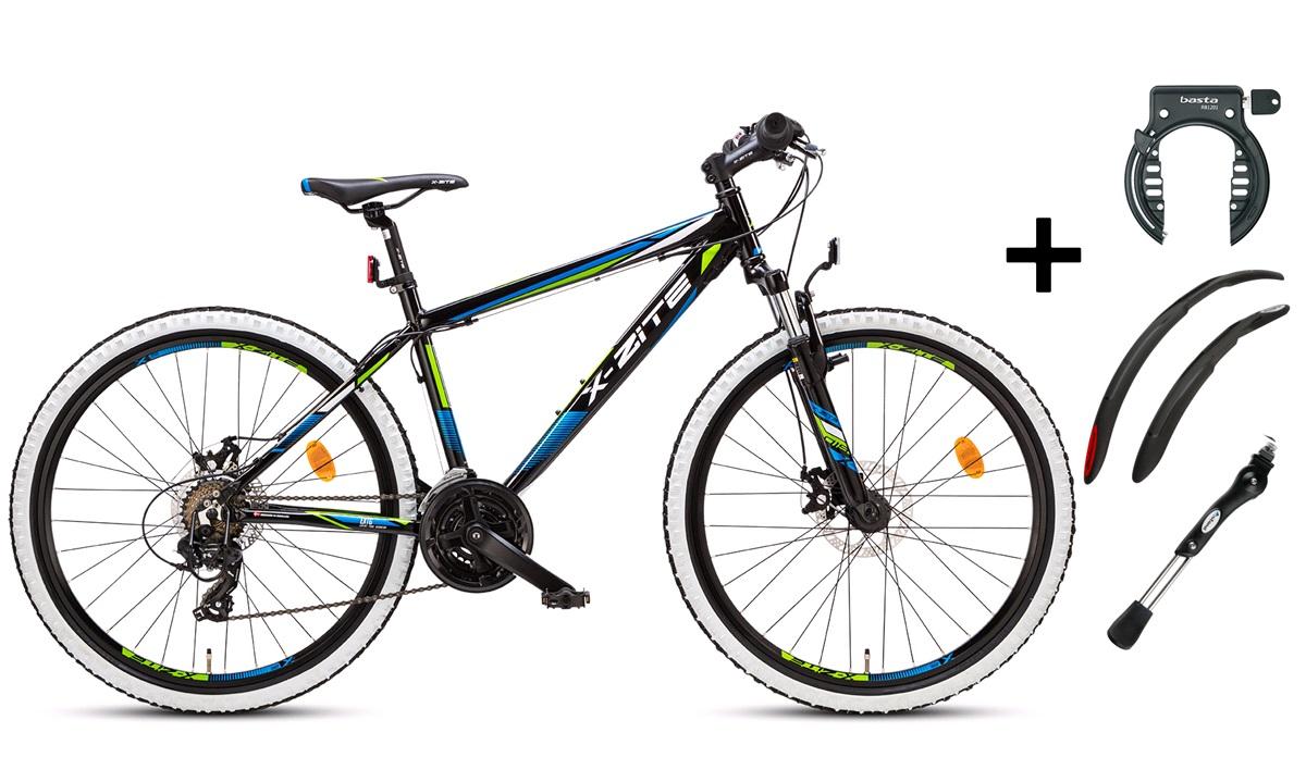 """Mountainbike 26"""" 26.21 sort PAKKEPRIS"""