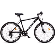 "Mountainbike 26"" 1621 21-gear 55 cm sort"