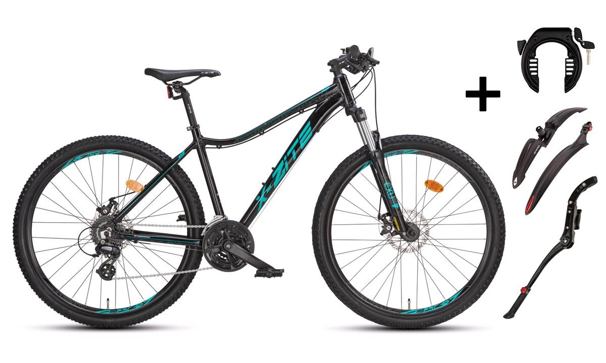 "Mountainbike 27,5"" DAME 27.24 44cm PAKKEPRIS"