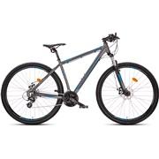 """Mountainbike 2924 29"""" 24-g 48cm grå/blå"""