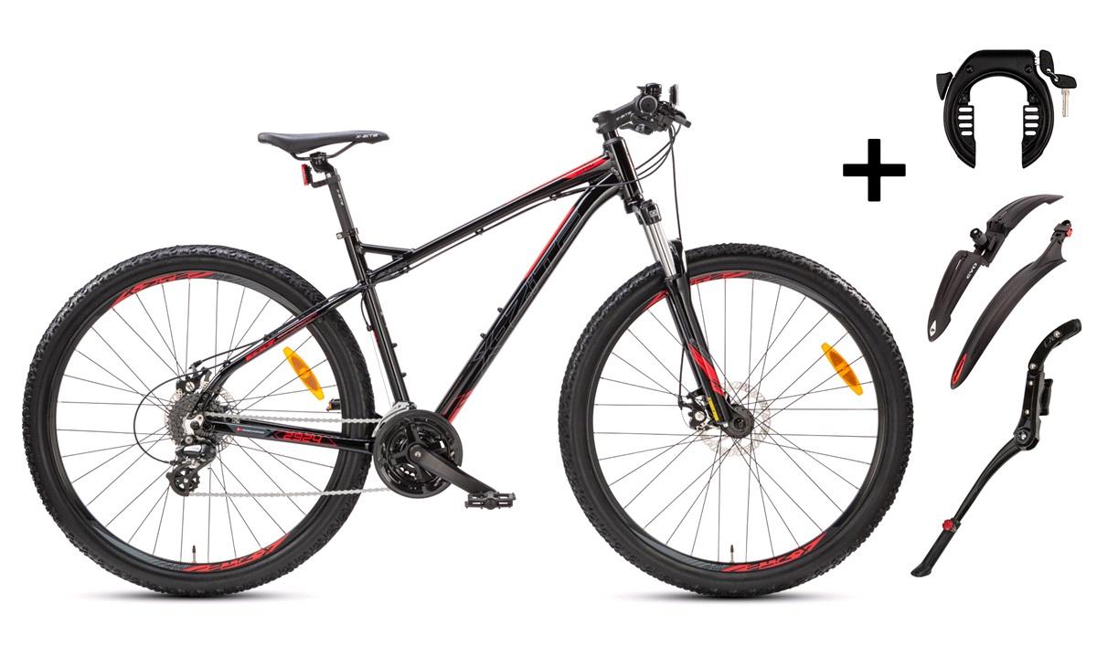 """Mountainbike 2924 29"""" 48cm PAKKEPRIS"""
