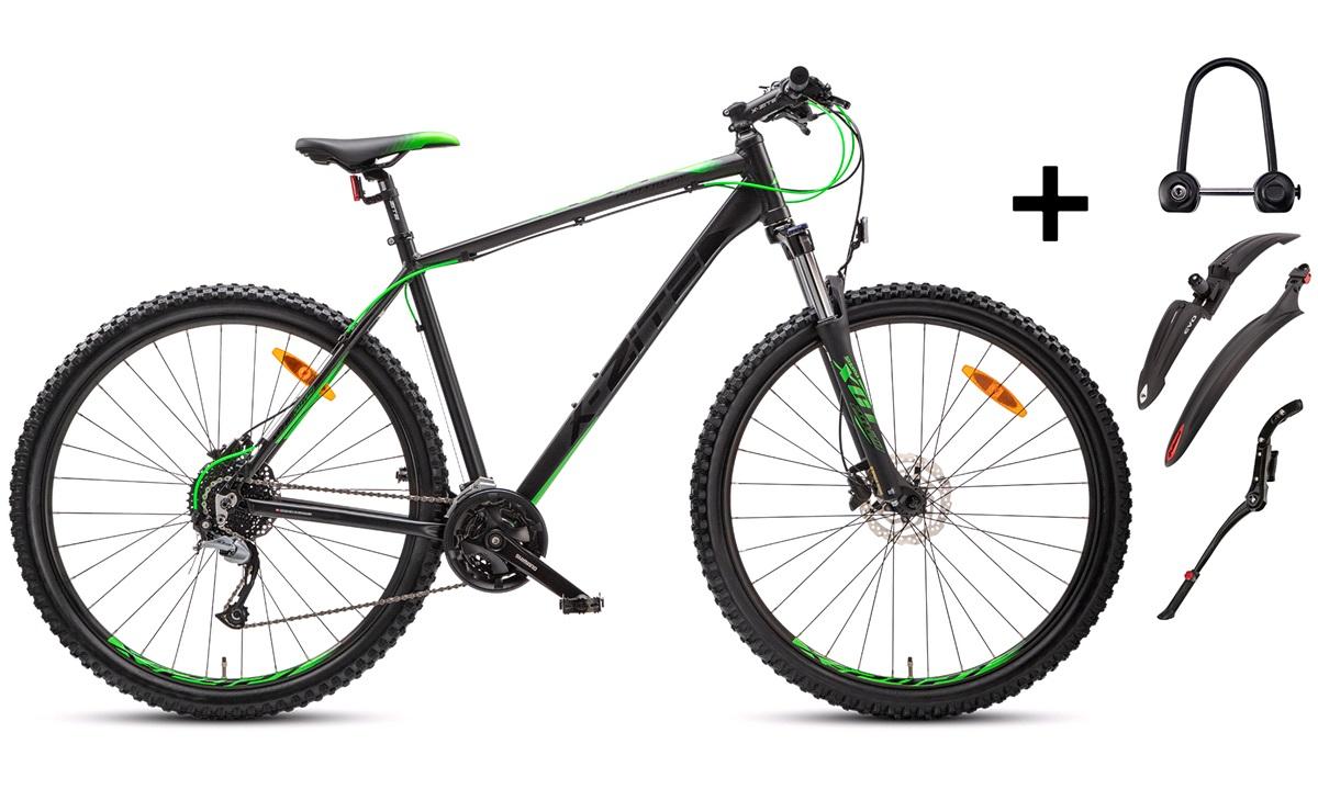 """Mountainbike 29"""" 48cm 2927 PAKKEPRIS"""