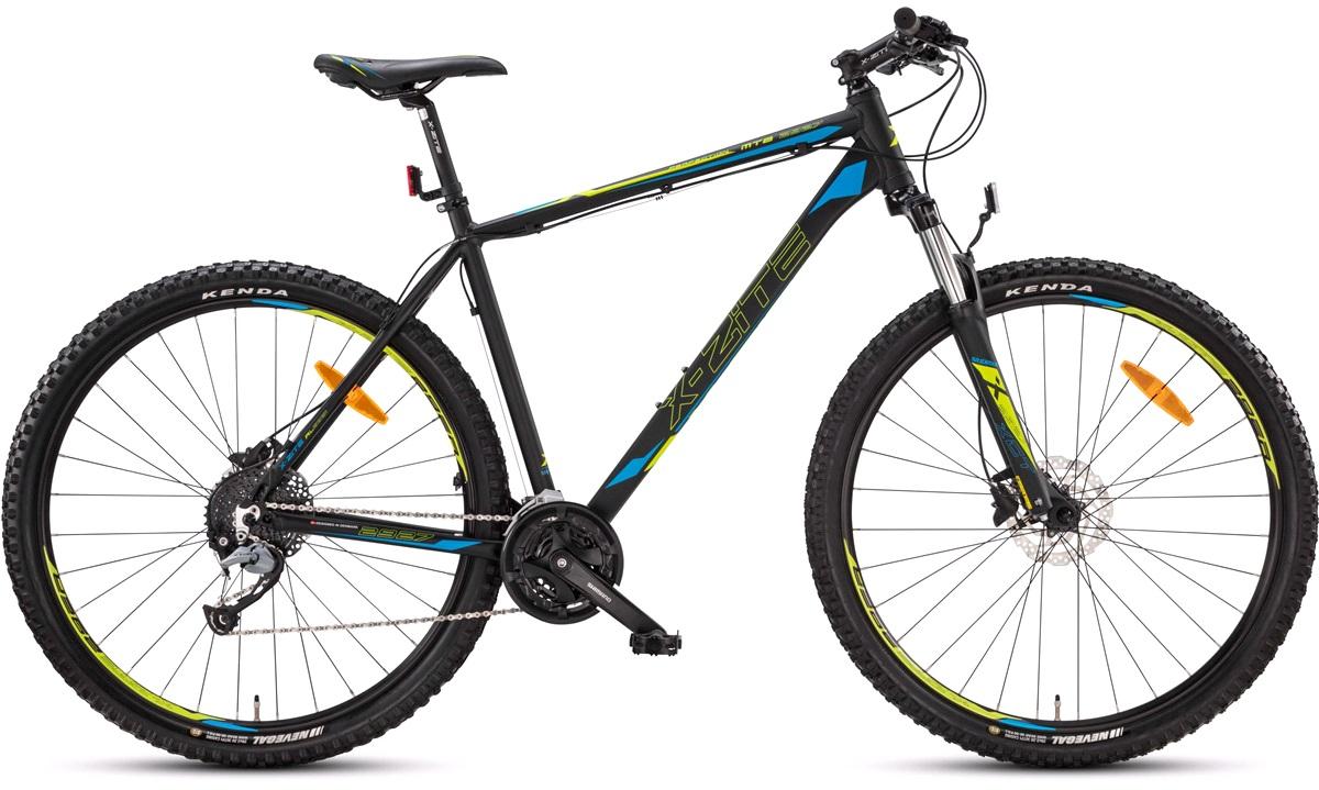 """Mountainbike 2927 29"""" 27-gear sort 48cm"""