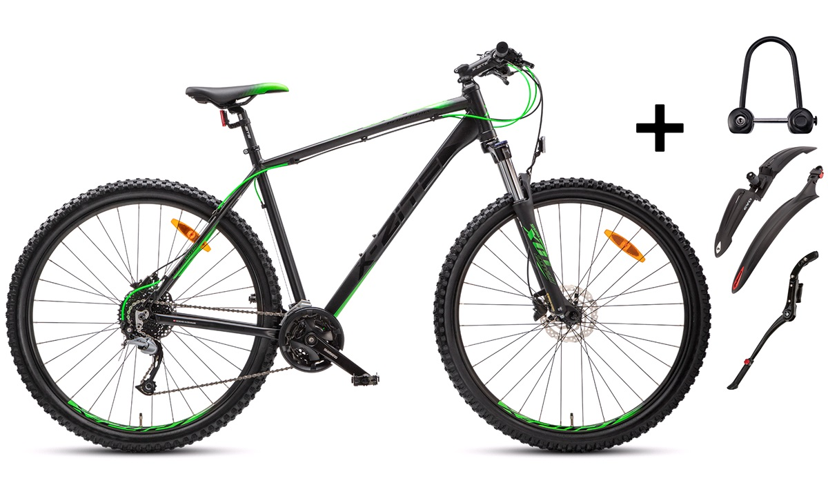 """Mountainbike 29"""" 54cm 2927 PAKKEPRIS"""