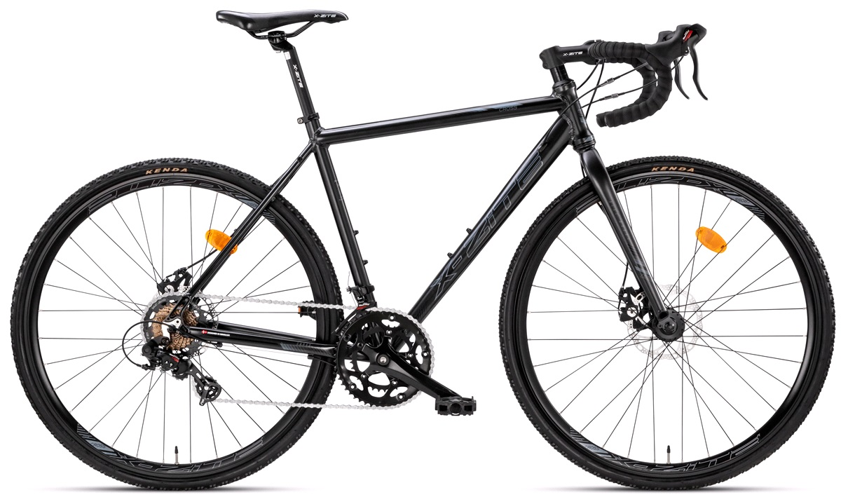 "Cross cykel 28"" 14-gear 52cm matsort"