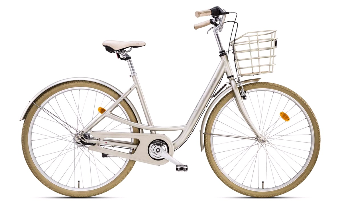 "Damecykel 28"" ASTA 7-gear champagne 48cm"