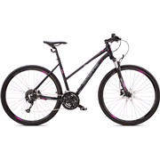 Hybrid cykel dame 27-gear suspension for