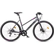 "Citybike dame 28"" alu 52cm sport-8 antra"