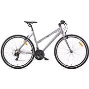 Hybridcykel dame 21-gear fast forgaffel