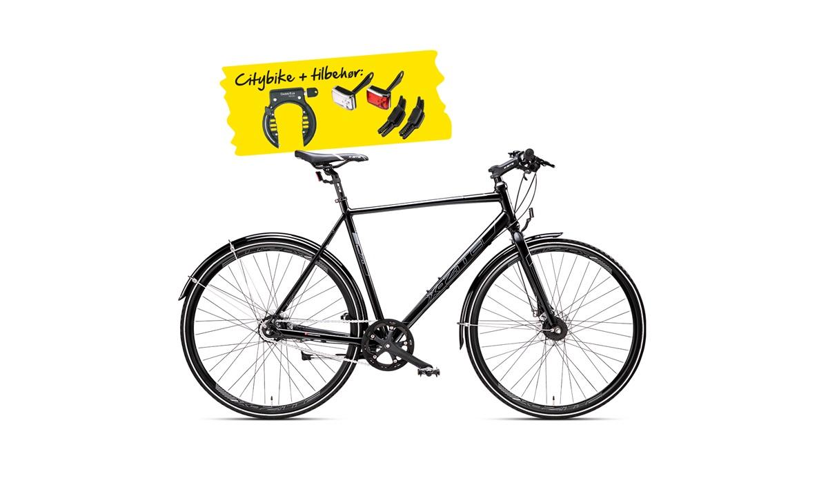 "Citybike herre 28"" 7-g roller PAKKEPRIS"