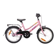 "Pigecykel 16"" Adventure Flower Pink"