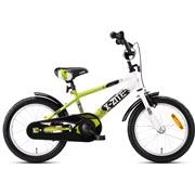 "Drengecykel 16"" BMX Power grøn/sort/hvid"
