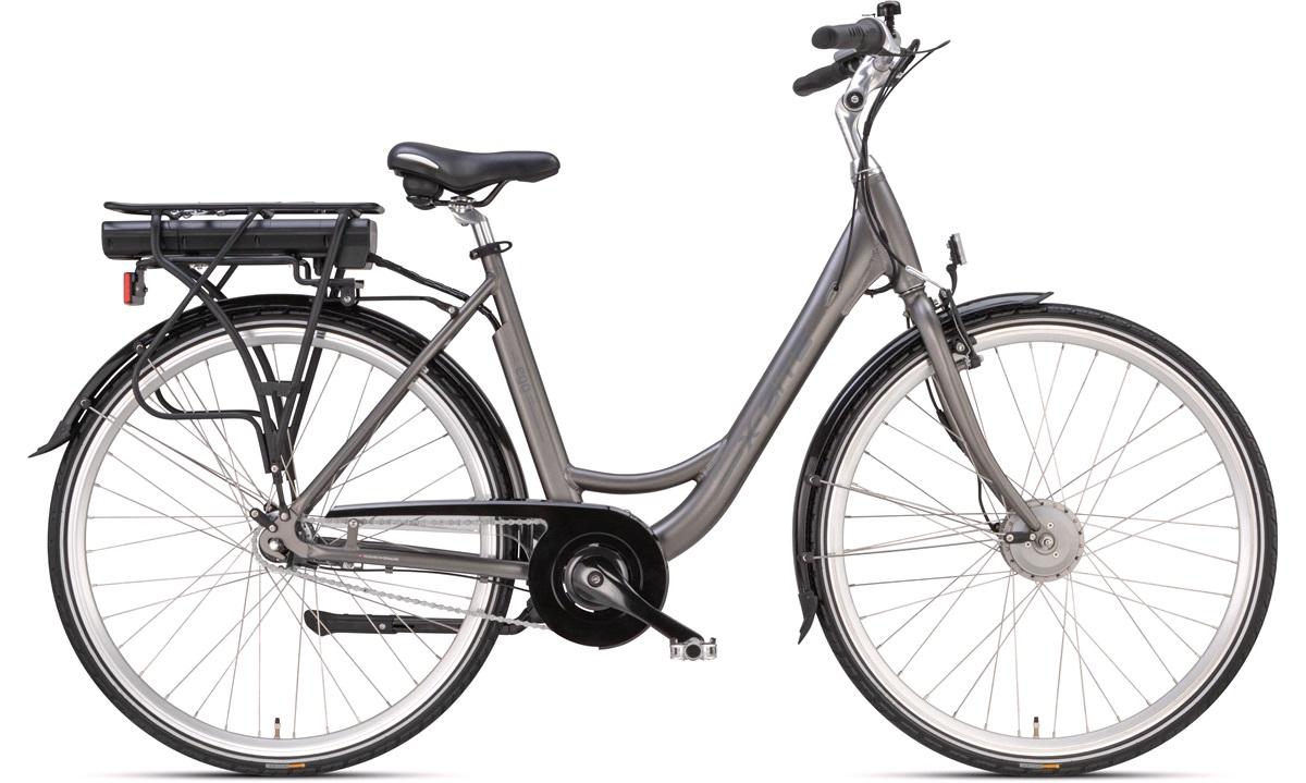 Elcykel dame 51 cm 36V-8,8Ah 7-speed grå