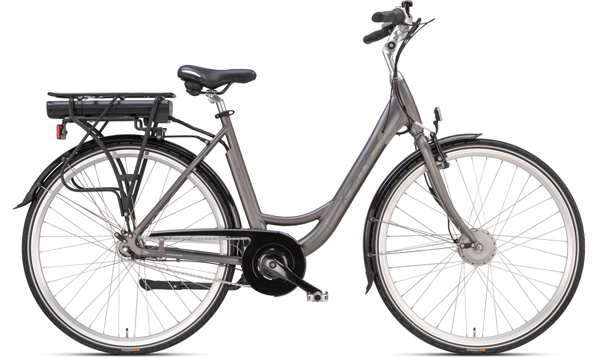 Elcykel dame 51cm 36V-10.4Ah 7-gear grå 2019 51cm