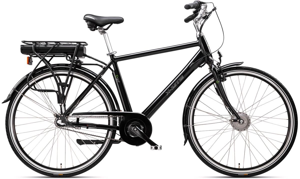 Elcykel herre E-go2 36V-8.8Ah 3-gear
