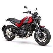 Benelli Leoncino 500cc Rød Euro-4