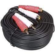 Phono forlæng.kabel 2 stik 2 udtag 10M