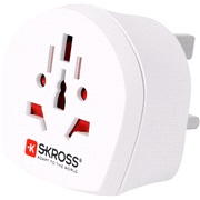 Rejseadapter SKROSS World to UK