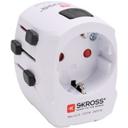 Rejseadapter SKROSS World Pro Light USB