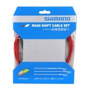 Gearkabelsæt Optislik Racer rød Shimano