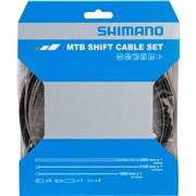 Gearkabelsæt SHIMANO MTB rustfri 300cm