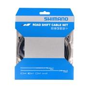 Shimano gearkabel sæt sort til Racer