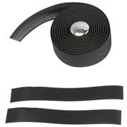 Styrbånd kork med gel 180 x 3 cm sort