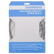 Bremsekabelsæt Shimano PTFE grå rustfri