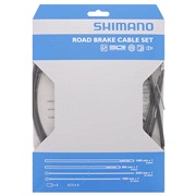 Bremsekabelsæt Shimano PTFE sort rustfri