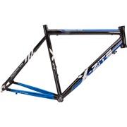 Cykelstel aluminium blå/sort 56 cm Racer