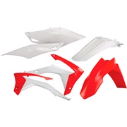 Plastikkit Acerbis rød/hvid CRF250 14-17