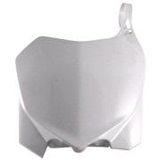 Fornummerplade Acerbis hvid CRF250 10-13