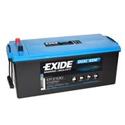Batteri - EP2100 - EXIDE DUAL AGM - (Exi