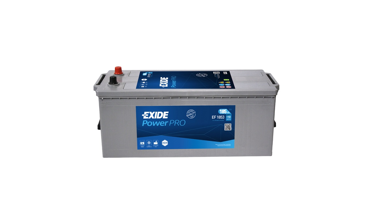 Batteri - EF1853 - PowerPRO - (Exide)