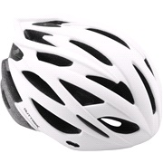 Cykelhjelm In-mould mat hvid M 55-58