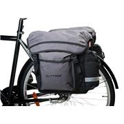 Cykeltaske sæt 2 delt sort/grå Outtrek