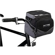 Cykeltaske til styr sort/grå Outtrek