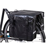 Cykeltaske 2 tasker i str. 36X32X12cm