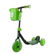 Løbehjul 3-hjul sort/grøn Stiga
