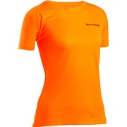Løbe T-shirt dame small Outtrek, orange