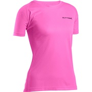 Løbe T-shirt dame large Outtrek, pink