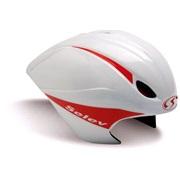 Selev trial cykelh TT EVO hvid/rød 54-59