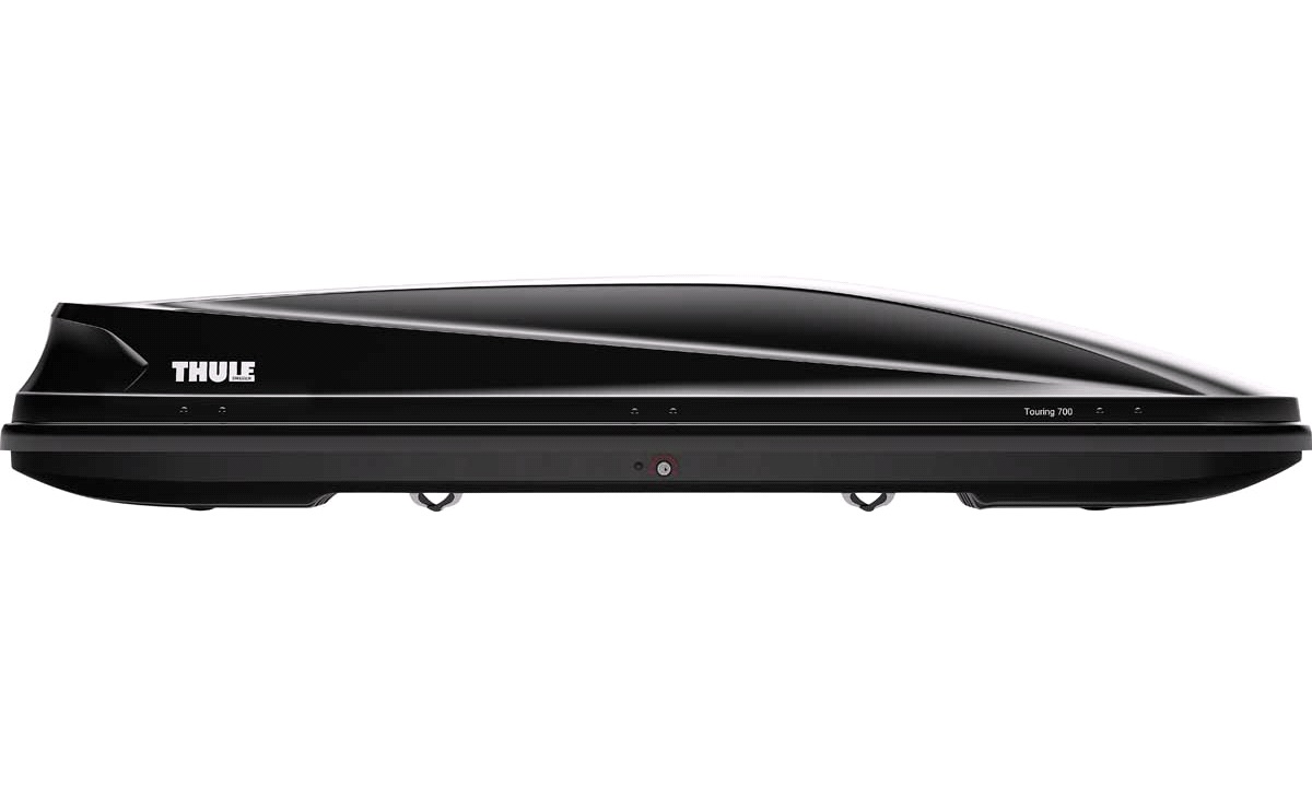 Tagboks 430L Thule Touring Alpine Black Glossy