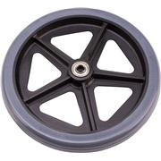 Baghjul til aluminiums rollator