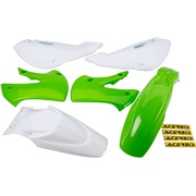 Plastikkit grøn Acerbis, KX65 00<
