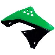 Kølerskjolde grøn/sort, KX250F 09-12